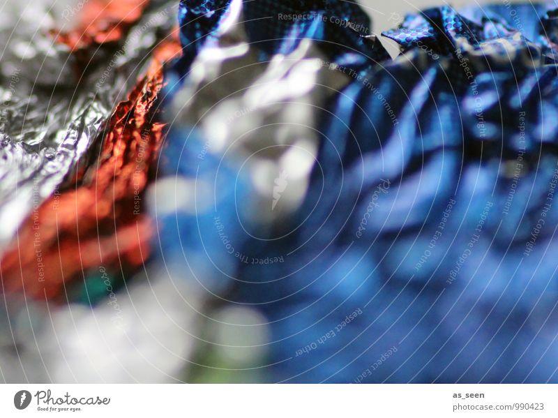 Alles, was übrigblieb ... Süßwaren Schokolade Lifestyle Reichtum Weihnachten & Advent Silvester u. Neujahr Geburtstag Umwelt Metallfolie Verpackungsmaterial