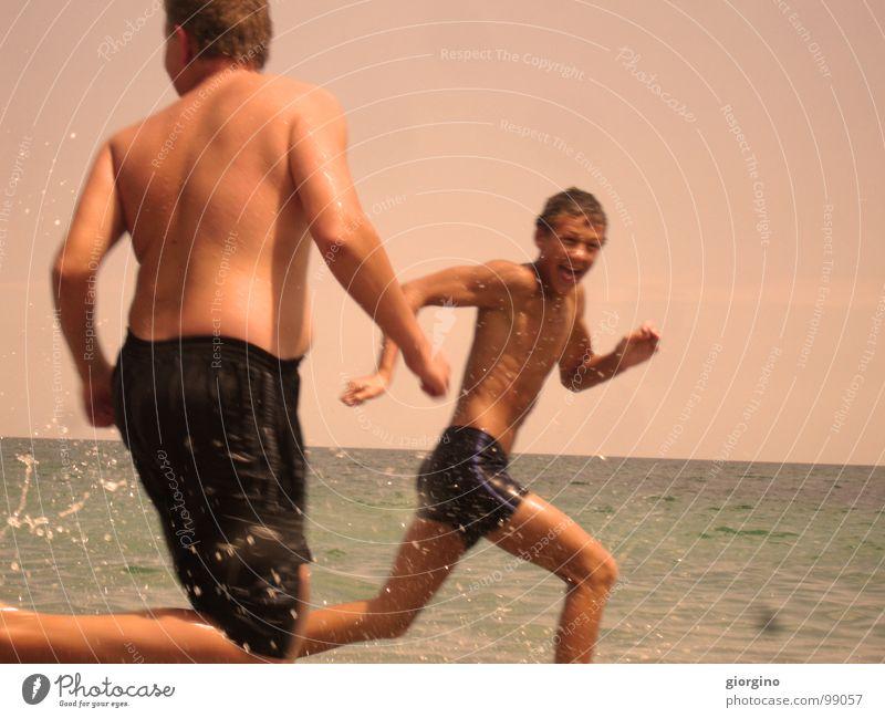catch Wasser Himmel Freude Aktion