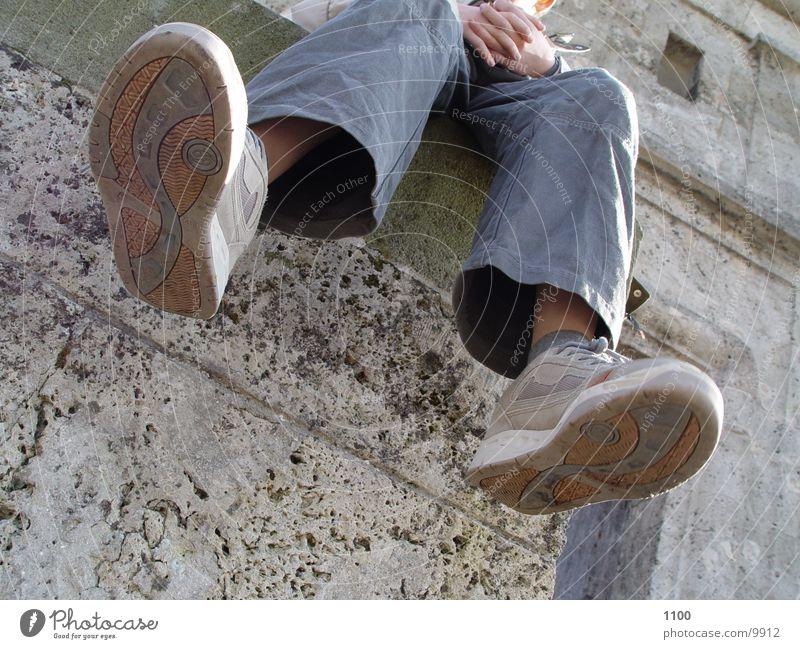 beine Mensch Beine Hose Turnschuh