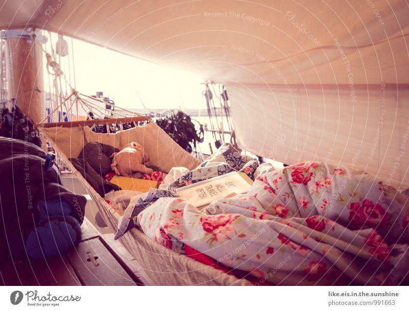 sail away with me honey... Ferien & Urlaub & Reisen Erholung ruhig Ferne Glück Freiheit Wasserfahrzeug träumen Zufriedenheit Ausflug schlafen Abenteuer Wellness
