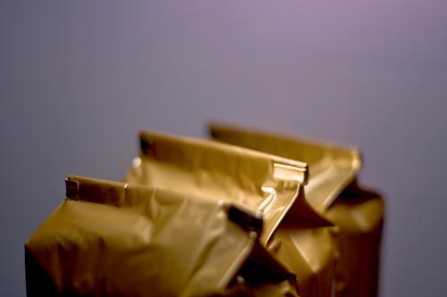 Tüten Falte Handel Inhalt kaufen Material Menschenmenge Tee Plastiktüte verkaufen Verpackung geschlossen Überraschung 3 gold glänzend Drogerie