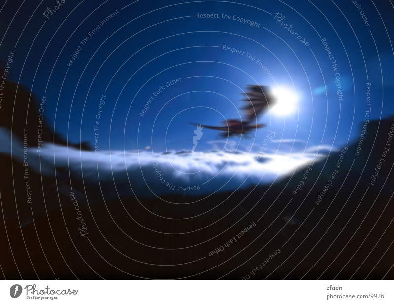 dragonsky Wolken Himmel Fototechnik Dragon Drache Berge u. Gebirge Sky Sun Sonne