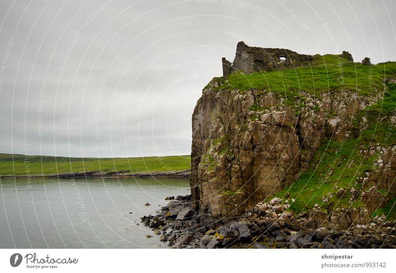Duntulm Castle Himmel Natur Ferien & Urlaub & Reisen Sommer Wasser Ferne Architektur Regen Tourismus Wetter Angst wandern Wind Insel Ausflug Klima