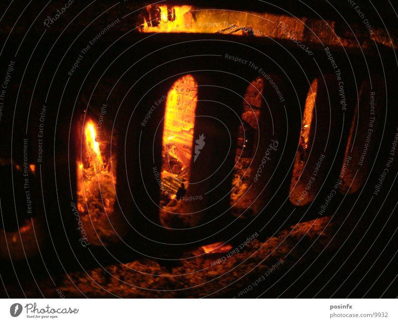 hölle Brand Flamme Glut