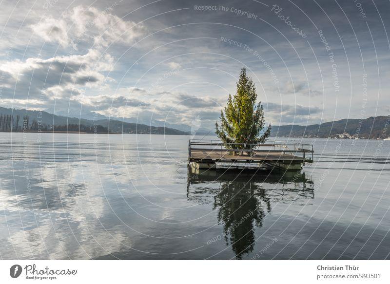 Weihnachten am See Wellness Leben harmonisch Wohlgefühl Zufriedenheit Sinnesorgane Erholung ruhig Angeln Tourismus Ausflug Winter Winterurlaub