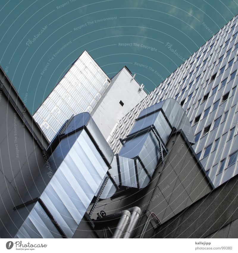 neulummerland (400) Himmel Stadt Leben Berlin Fenster Landschaft Architektur Raum Beton Hochhaus Fassade rund Niveau Häusliches Leben Balkon Etage