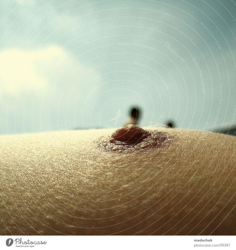 NIPPEL Mensch Himmel Mann Sonne Sommer Strand Erholung nackt Haut Wellness Vertrauen Brust Portugal Brustwarze Spa Pore