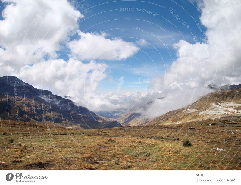 Huancayo Natur Ferien & Urlaub & Reisen Pflanze Wasser Ferne Umwelt Berge u. Gebirge Gras natürlich Stein See Tourismus Hügel Schlucht Tal Kies