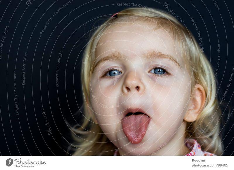 BÄÄÄÄÄHHHHH Kind Mädchen Kleinkind süß niedlich Kindergarten Junge Fröhlichkeit Unbekümmertheit Porträt klein ungeheuerlich Ärger Gesichtsausdruck rotzig Freude