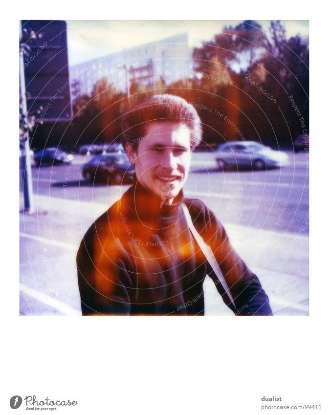 Kay himself Freude Stil Filmmaterial Polaroid unterwegs Igel