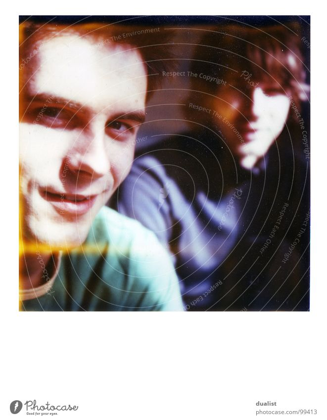 steve Freude Filmmaterial Bad Tiefenschärfe Polaroid