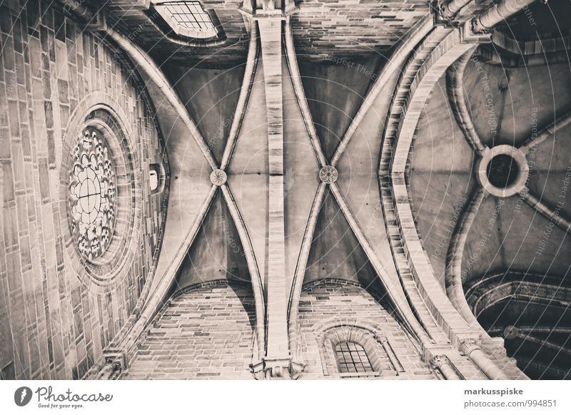 Bamberger Dom Ferien & Urlaub & Reisen Stadt Fenster Architektur Gebäude außergewöhnlich Tourismus ästhetisch Kirche Dach Bauwerk Beruf Tradition Sightseeing