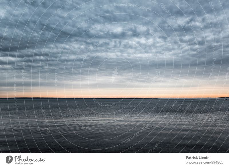 Ruhige See Natur Ferien & Urlaub & Reisen Wasser Meer Erholung Landschaft ruhig Ferne Umwelt Küste Freiheit Zufriedenheit Wetter Tourismus Luft Ordnung