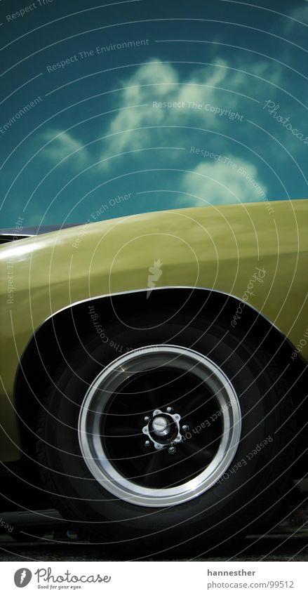 lecker rädsche Himmel alt blau Ferien & Urlaub & Reisen Freude schwarz gelb PKW Lampe Freizeit & Hobby fahren KFZ fantastisch stark Motor Blech