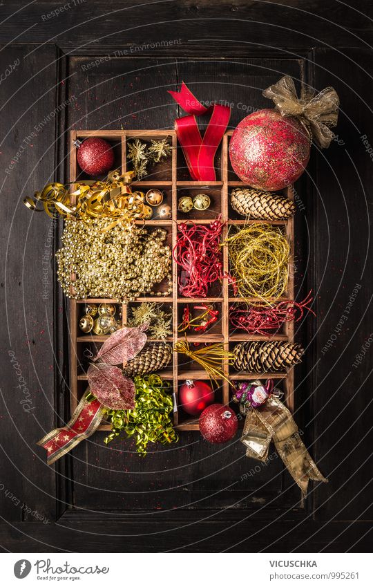 Weihnachtsgeschenk mit papier schneeflocken von vicuschka for Dekoration advent