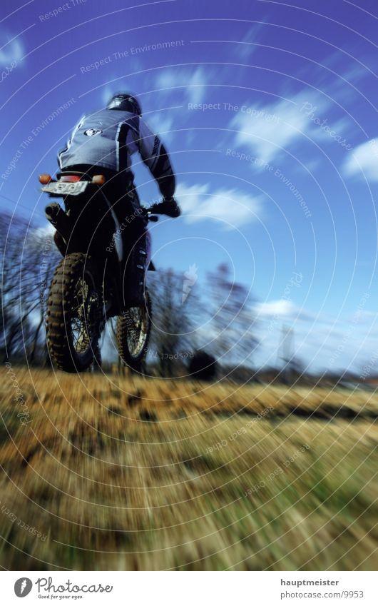 hardcross Sport springen Bewegung Rennsport Motorrad extrem