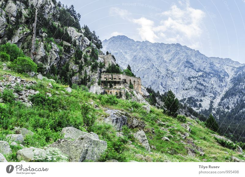 Himmel Natur blau schön grün Farbe weiß Landschaft Wolken Winter Umwelt Berge u. Gebirge natürlich Felsen Aussicht Europa