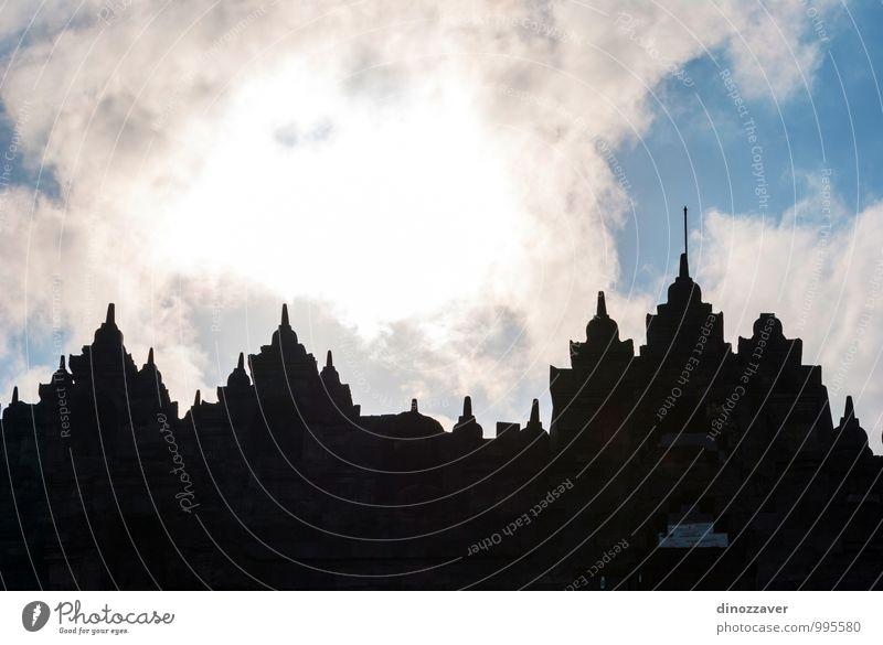 Borobudor-Tempel, Yogyakarta, Indonesien Meditation Ferien & Urlaub & Reisen Tourismus Urwald Ruine Architektur Denkmal Stein alt Gesellschaft (Soziologie)