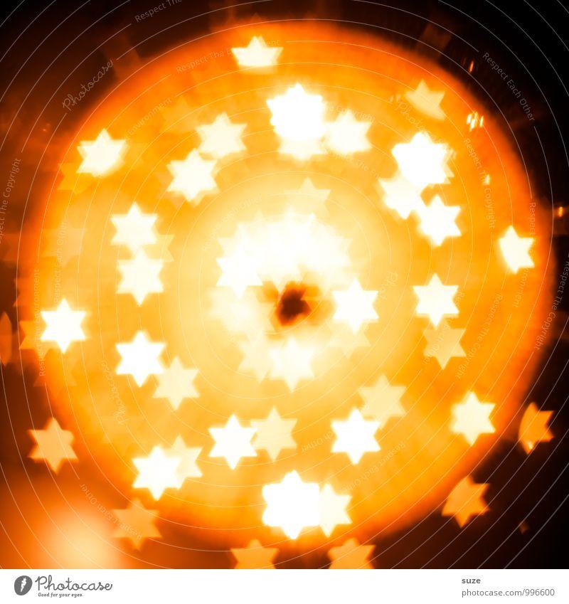 Stellares Sonnensystem Weihnachten & Advent gelb Gefühle Beleuchtung Stil Hintergrundbild Lifestyle Feste & Feiern außergewöhnlich Lampe Party Stimmung Design