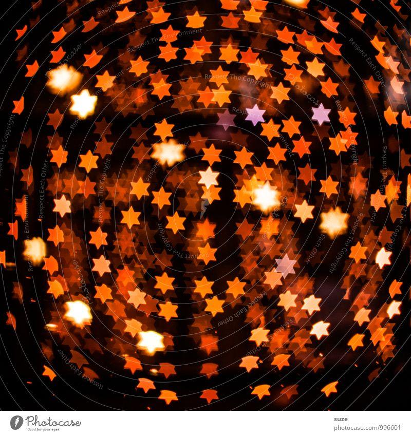 Lichtfest Lifestyle Stil Design Dekoration & Verzierung Nachtleben Feste & Feiern Weihnachten & Advent Geburtstag Zeichen leuchten außergewöhnlich dunkel