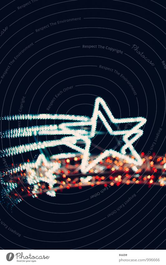 Schnuppe Weihnachten & Advent Gefühle Beleuchtung Stil Hintergrundbild Feste & Feiern außergewöhnlich Lifestyle Stimmung Party glänzend Design leuchten Dekoration & Verzierung Fröhlichkeit fantastisch