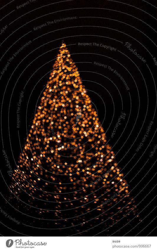 Schmuckstück Weihnachten & Advent Gefühle Beleuchtung Stil Hintergrundbild Lifestyle Feste & Feiern außergewöhnlich Stimmung glänzend Design leuchten