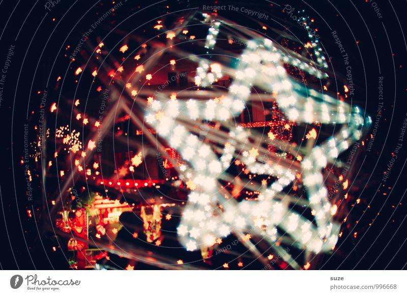 Sternstunde Lifestyle Stil Design Dekoration & Verzierung Nachtleben Party Feste & Feiern Weihnachten & Advent Zeichen leuchten fantastisch Fröhlichkeit schön