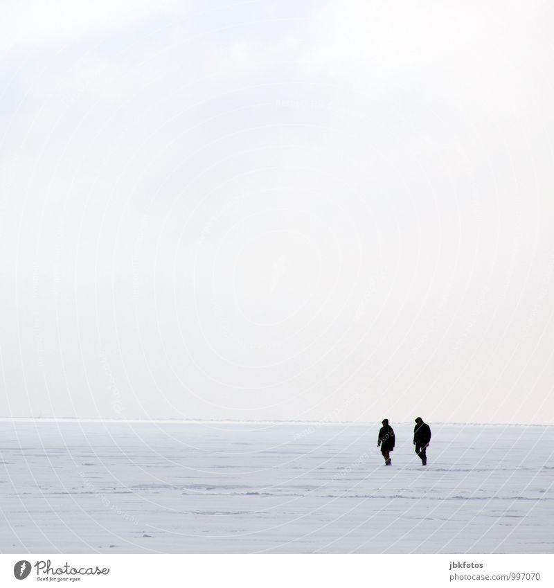 Dreaming of a white Xmas Mensch 2 Umwelt Natur Urelemente Wasser Unwetter Eis Frost Schnee Nordsee Aggression ästhetisch elegant frisch glänzend Unendlichkeit