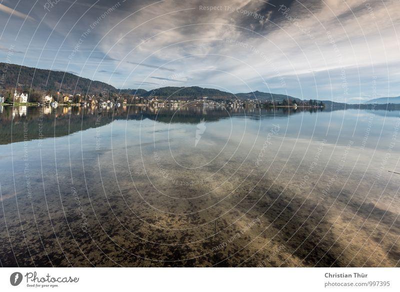 Fernblick Natur Ferien & Urlaub & Reisen Wasser Sommer Erholung ruhig Freude Winter Ferne Umwelt Leben Glück Freiheit Schwimmen & Baden außergewöhnlich See