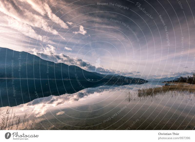 Endlose Ruhe Natur Ferien & Urlaub & Reisen Erholung ruhig Wolken Winter Berge u. Gebirge Leben Herbst Freiheit Schwimmen & Baden See Zufriedenheit Tourismus