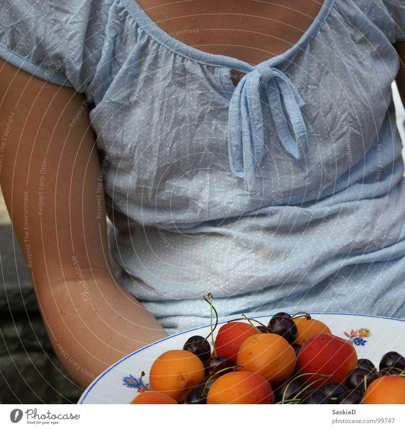 obst Frau Sommer Ernährung Wärme Frucht frisch Physik kulinarisch