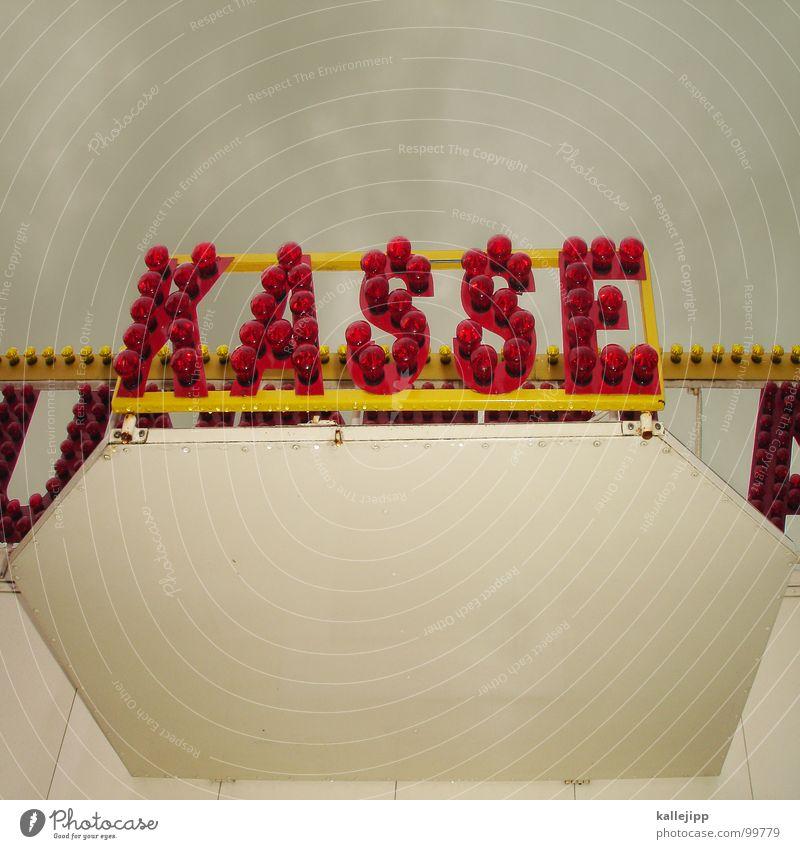 wunder kosten geld Leuchtreklame Werbung Typographie Buchstaben Glühbirne Schilder & Markierungen Wunder Bühne Zelt Zirkus Wanderzirkus Kasse bezahlen Gefühle