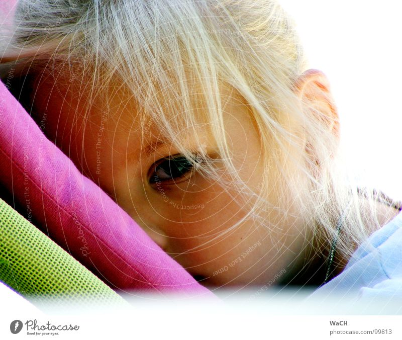 summer chillin Erholung Ferien & Urlaub & Reisen Sommer Sonne Strand Kind Mädchen Auge Küste blond träumen Liegestuhl verträumt Chill chillig child eyes