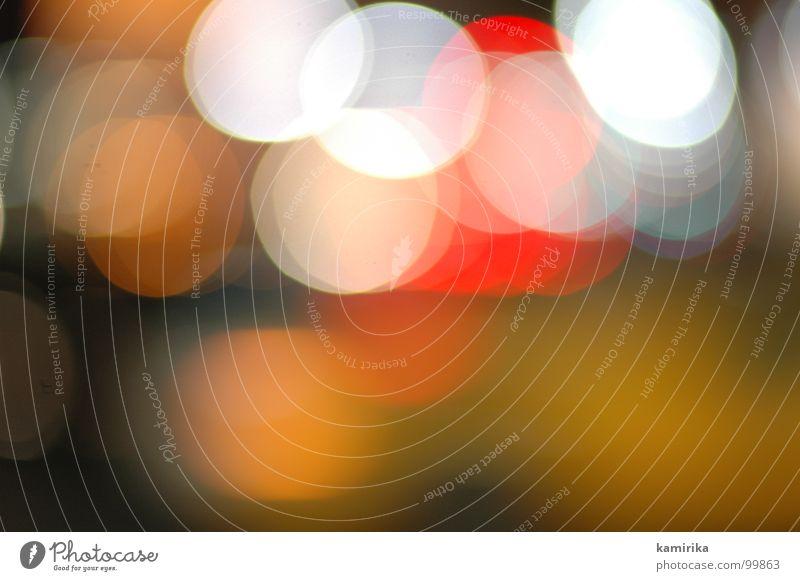 lichter Licht Verkehr Blende Experiment Farbe lights cars street Straße PKW