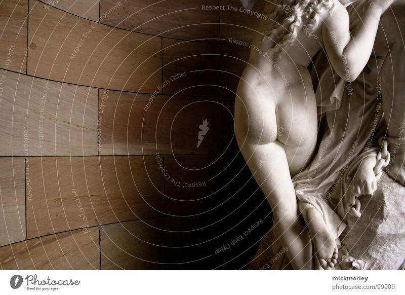 nice antique ass antik Statue nackt Nixe Göttin Götter weiß Wand Fetischismus lang Toga Konzert modern Barock Hinterteil Akt Stein Marmor Gott Fuß Beine Rücken
