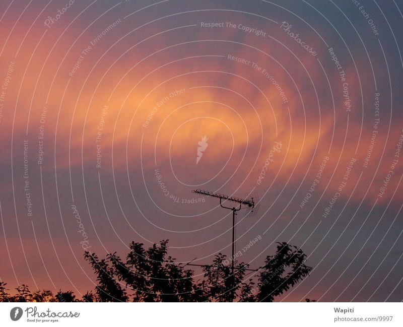 Sunset Himmel Wolken